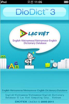 Tu dien Lac Viet cho IPhone