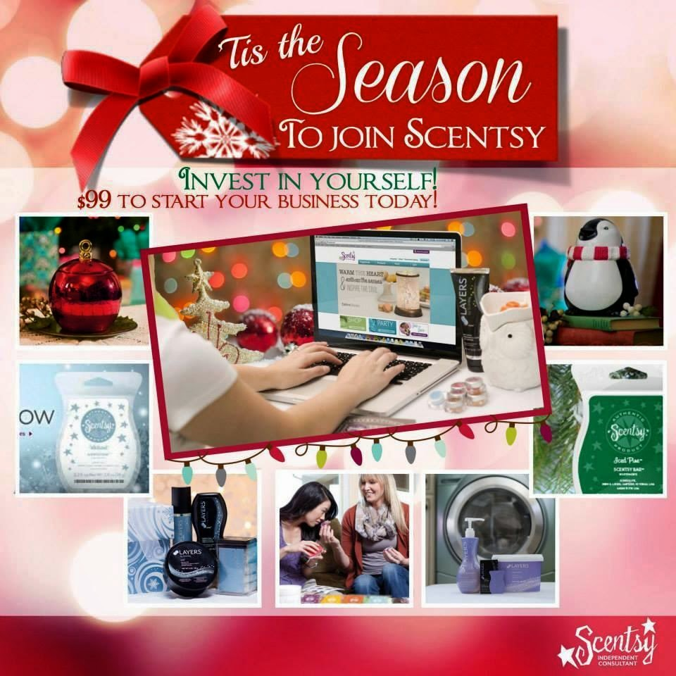 how to join scentsy uk