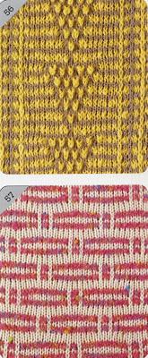 узор для машинного вязания