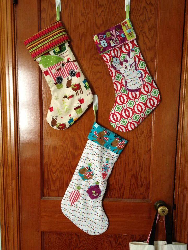 A Lovelee Mix Handmade Christmas Stockings