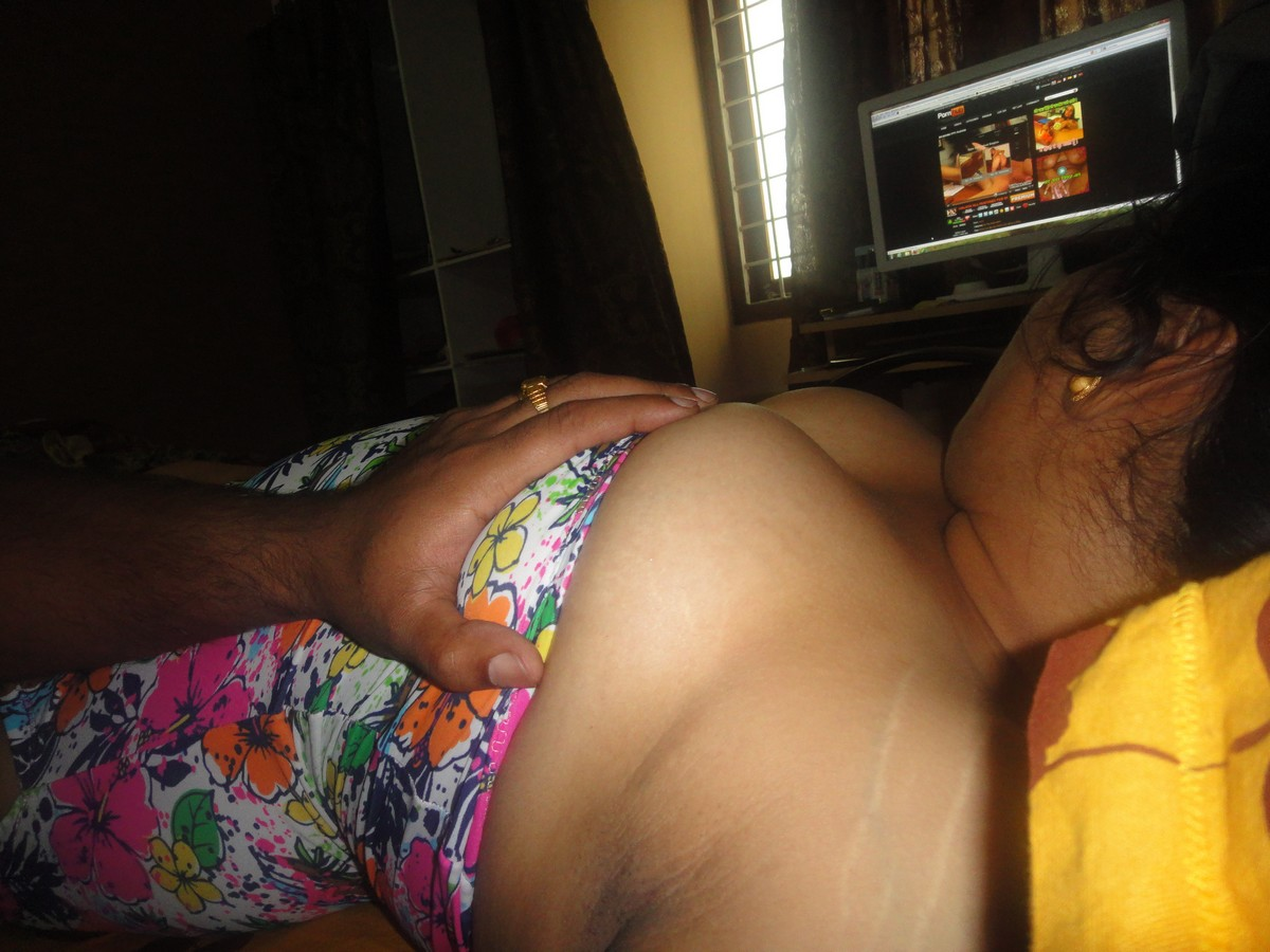 Indian Wife Downblouse