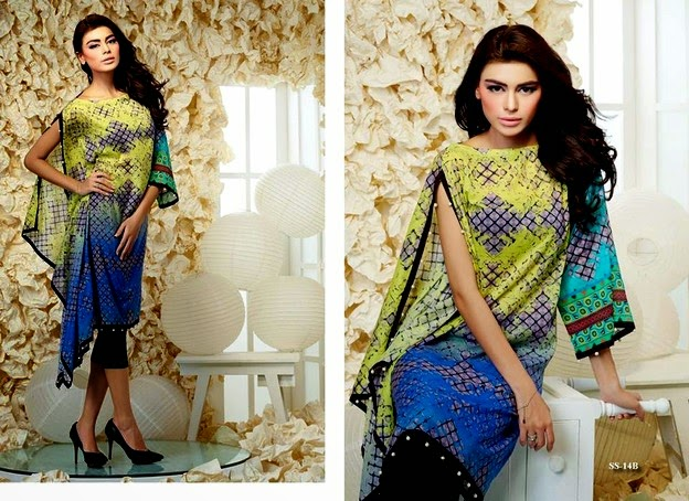 Bashir Ahmad- Printed And Embroidered Single Shirt Vol 2