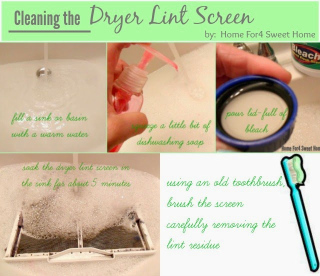 how to clean the fine lint in the air
