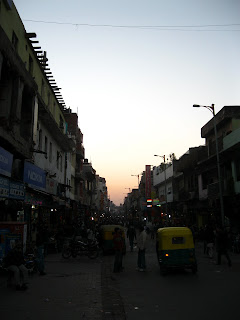 India travel writing old delhi