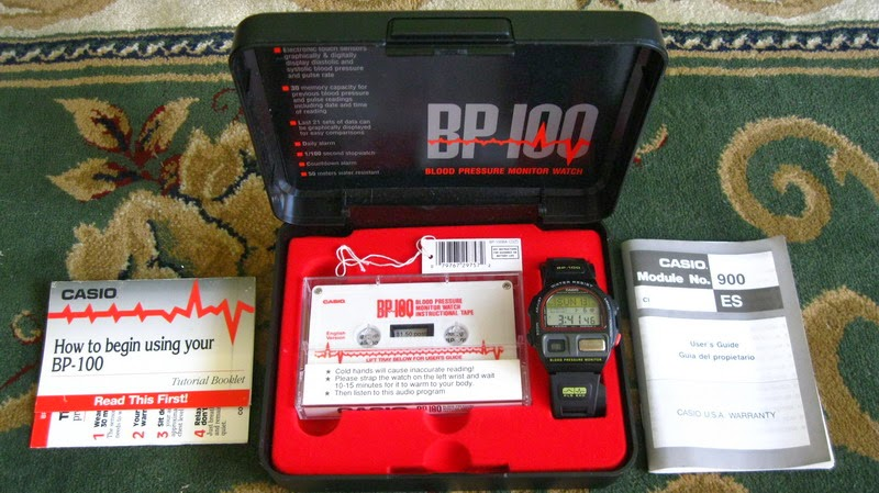 Casio BP-100 complete set