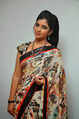 Syamala glamorous photos in saree-thumbnail-11