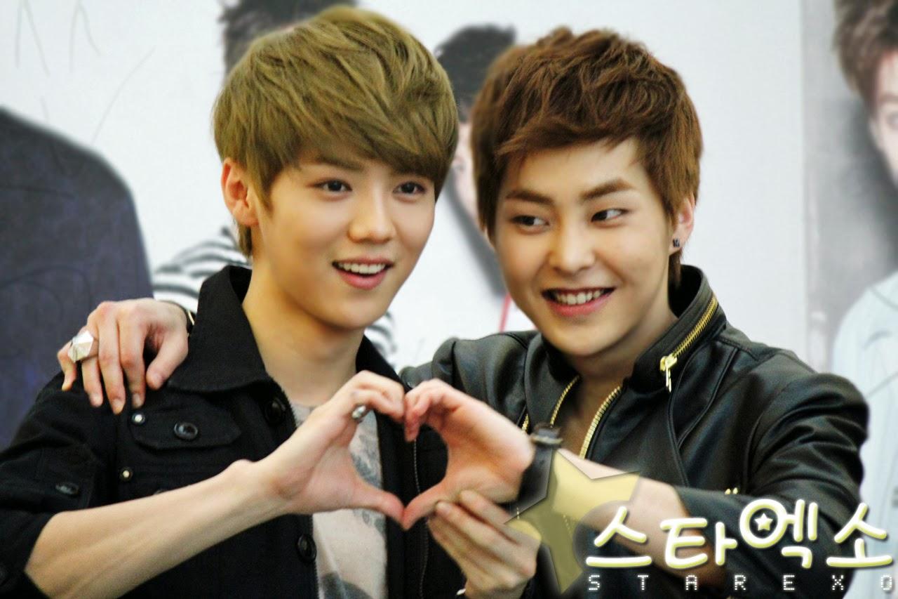 EXO Xiumin 시우민 & Luhan 루한 Love story - Love is Love