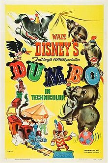 Original Film Poster Dumbo 1941 disneyjuniorblog.blogspot.com
