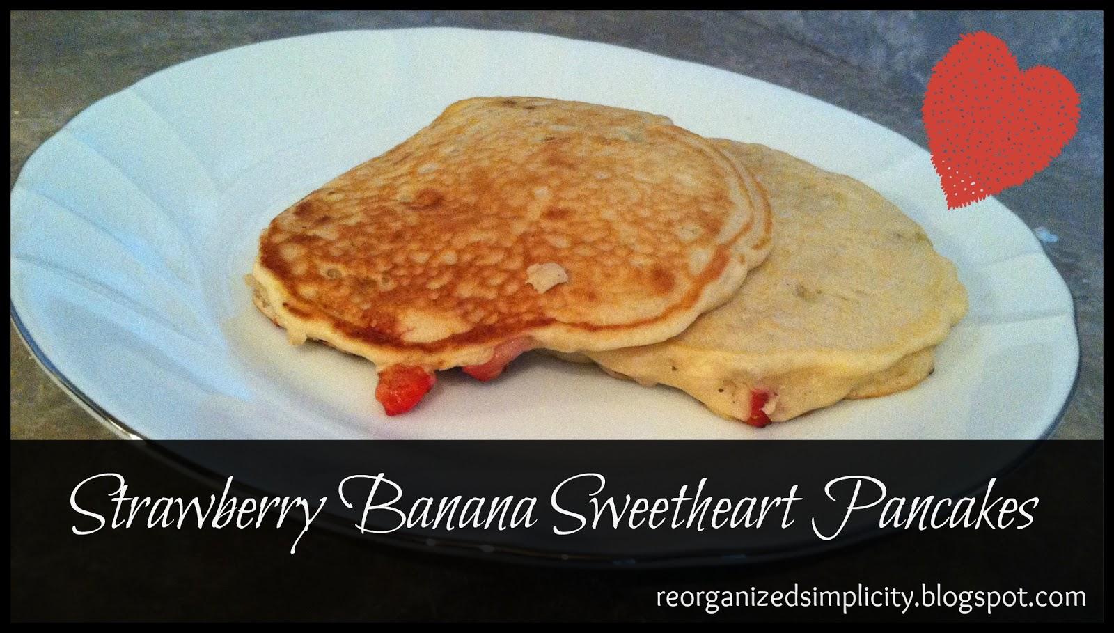 Reorganized Simplicity: Valentine's Menu: Week of 2/11