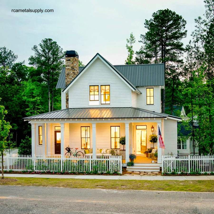 Casa residencial americana típica