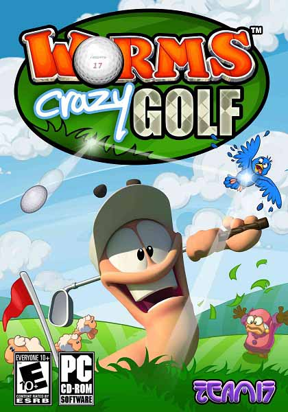 Worms Crazy Golf PC 2011 3980131