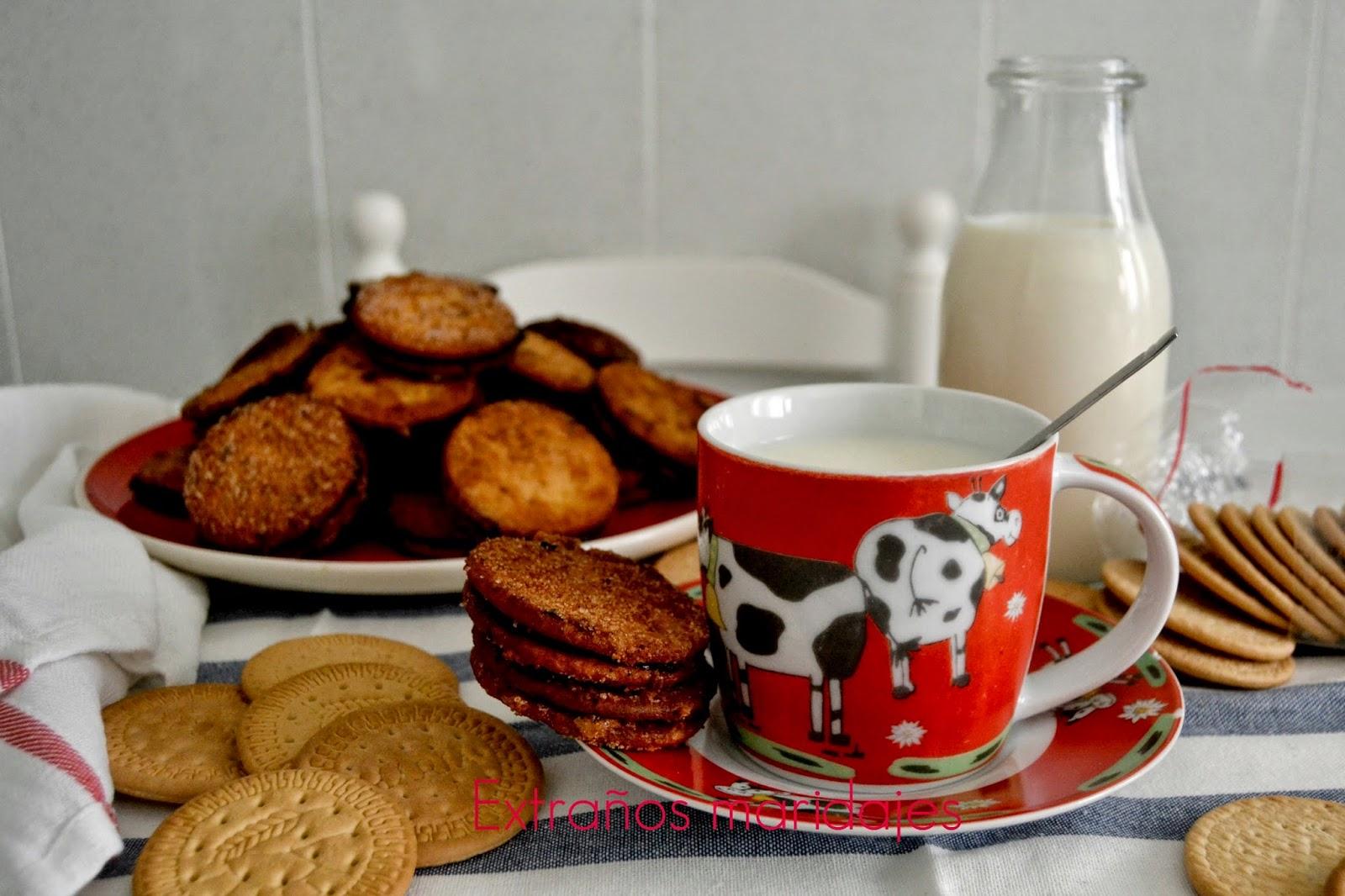 Galletas Rellenas De Chocolate (las Galletas De La Yaya Julia)