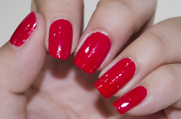 OPI Coca Cola Red Swatches