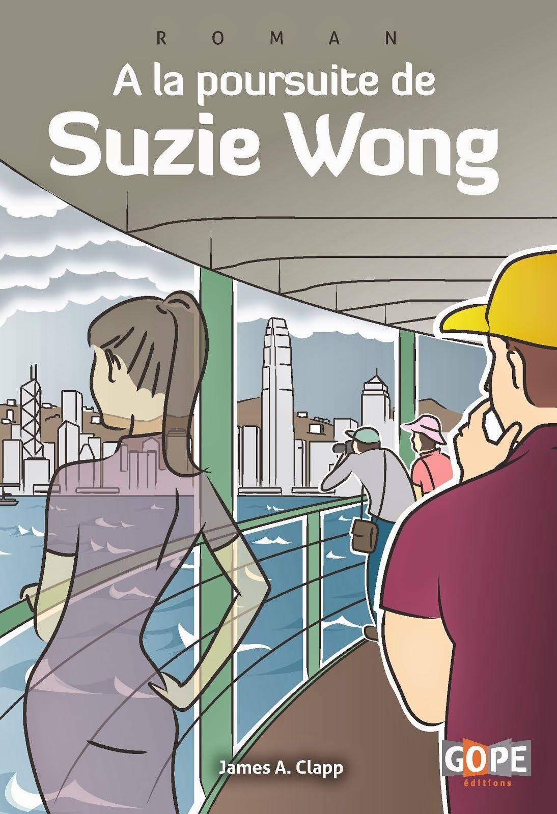 Couverture À la poursuite de Suzie Wong