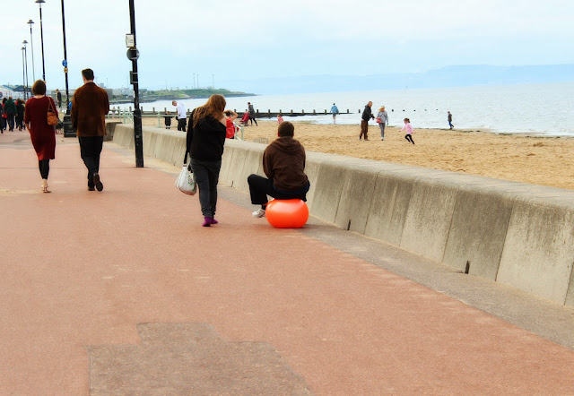 Portobello Beach Promenade Spacehoppers