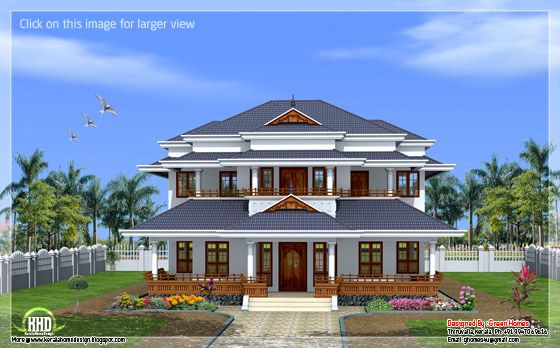 Vastu based traditional Kerala home