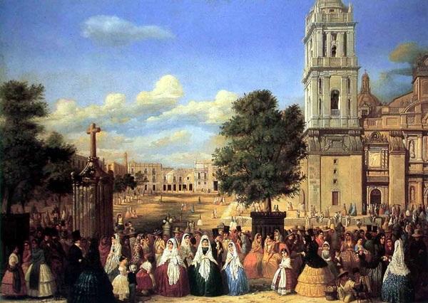 El Paseo de las cadenas en jueves santo