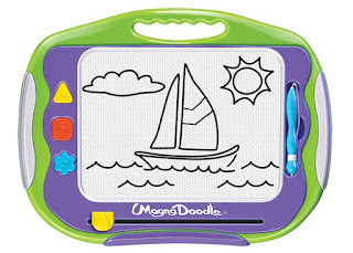 Magna-Doodle - gift ideas for kids who love to doodle, write, and draw from And Next Comes L