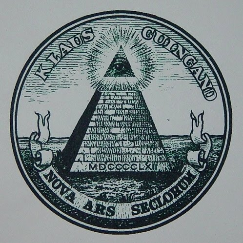 Klaus Guingand artwork - NOVA ARS SECLORUM drawing -1999