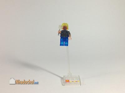 Lego giả mô hình siêu anh hùng Thor