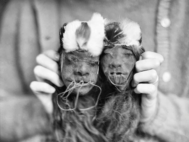 cabeças encolhidas, encolhedores, cabeça, tribo, amazônia, rituais, bizarro, índios, história, jivaro