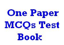 One Paper MCQs Book