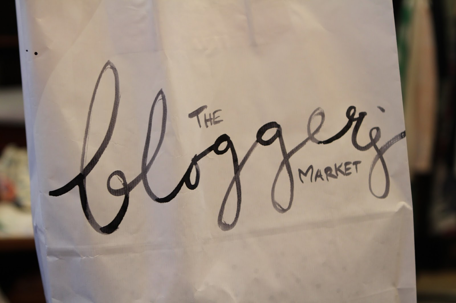 The bloggers market