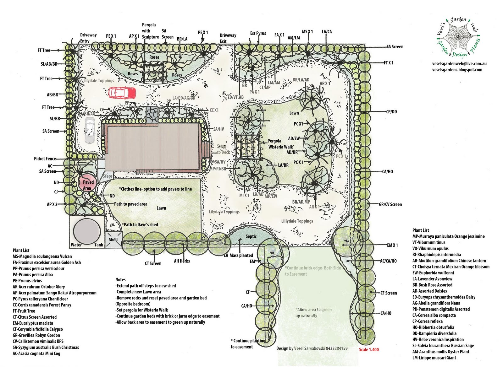 Large garden design and construction project vesel 39 s for Landscape design and construction