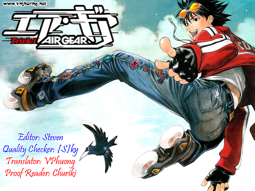 Air gear Chap 173