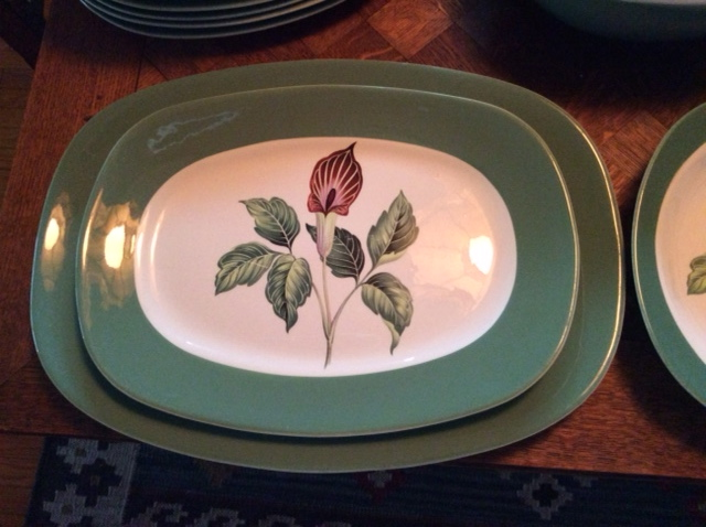 Very good condition - some minor wear to the transfer / pattern on low bowl and one or two plates. $250 FIRM. & Indoor GarageSale!: Taylor Smith Taylor