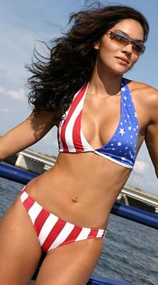 Michelle malkin in bikini
