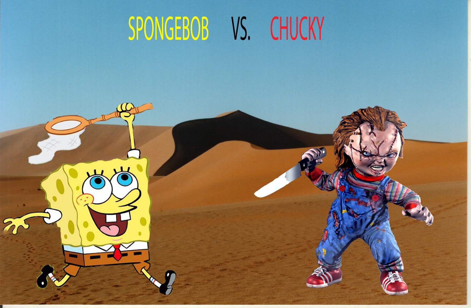 chase pothier's awesome designs: SPONGEBOB VS. CHUCKY