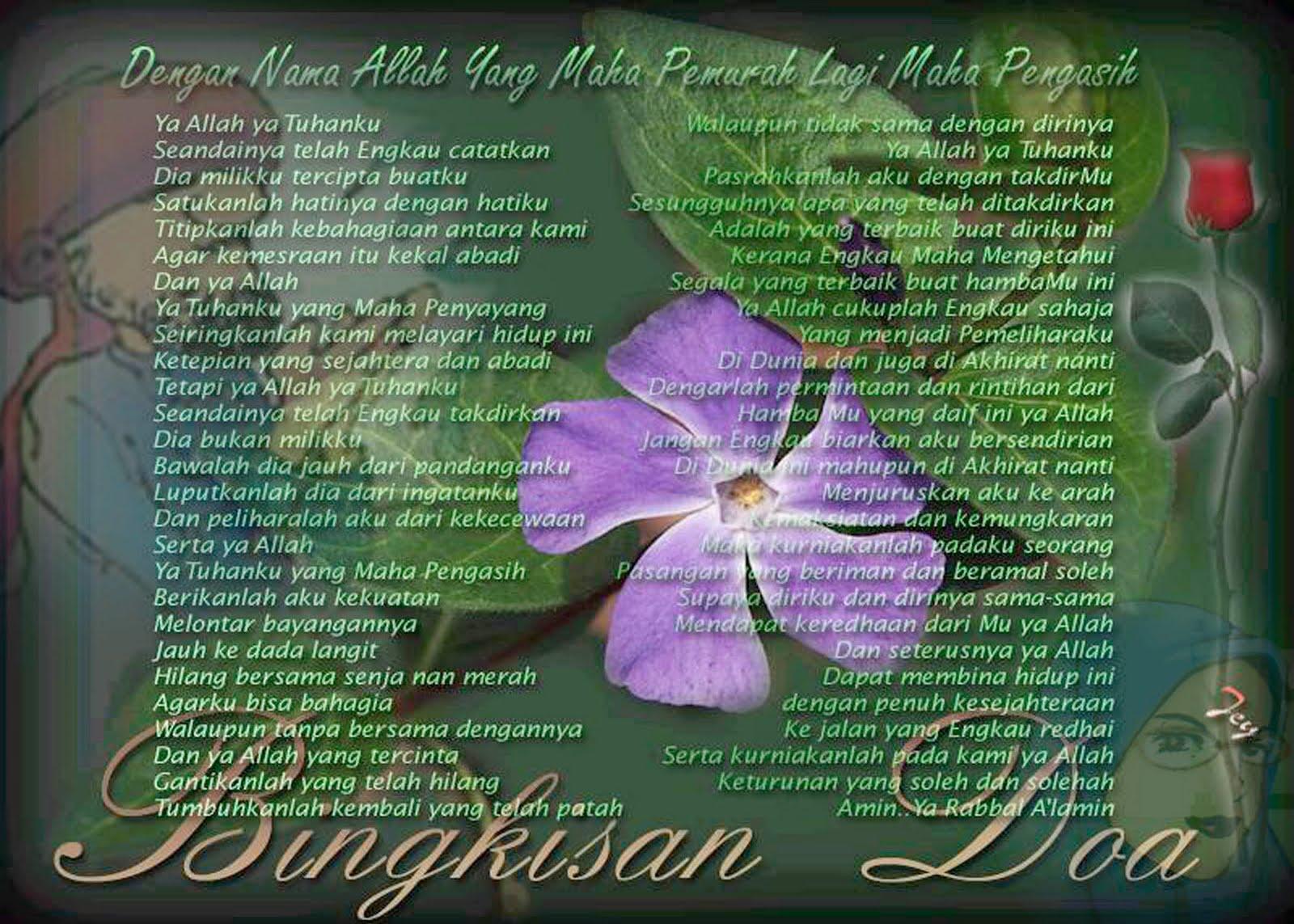 doa, untuk, kekasih, cinta, sayang, putus, cinta, kecewa, bahagia, perempuan, wanita, lelaki, suami, isteri, nikah, kahwin
