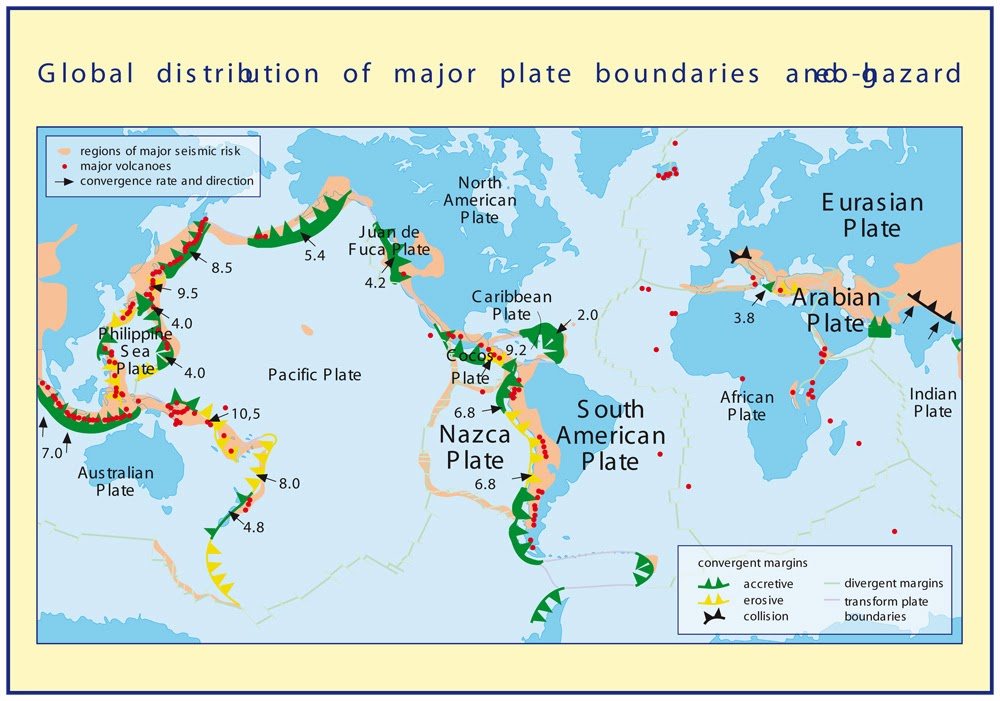 Global map to predict giant earthquakes think research expose global map to predict giant earthquakes gumiabroncs Gallery