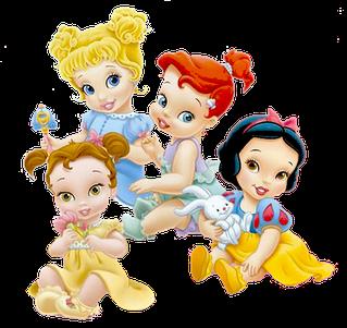 princesas bebes disney