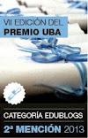 Blog ganador de la Segunda Mención del Premio UBA 2013