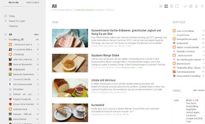 Screenshot Feedly