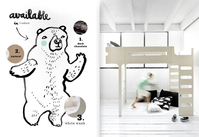 F bunk bed from Rafa-kids