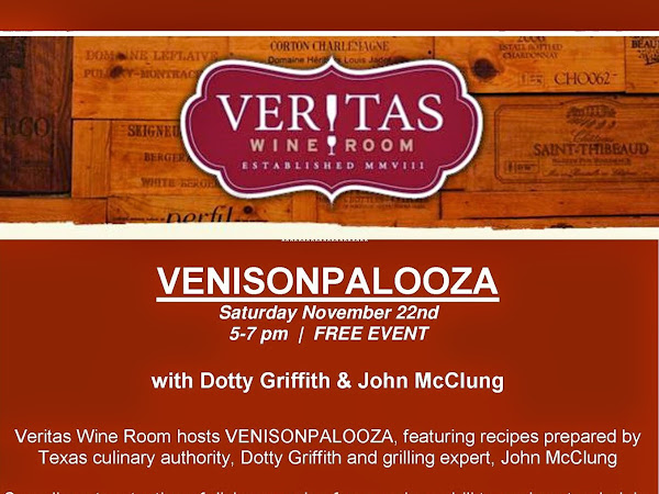 Venisonpalooza Happening at Veritas Wine Bar