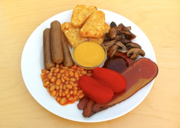 The Vegan Olympic Breakfast