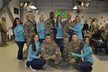 Miami Dolphin Cheerleaders Visit Fort Drum Troops in Afghanistan