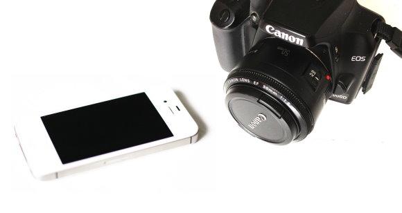 Spiegelreflex versus iPhone