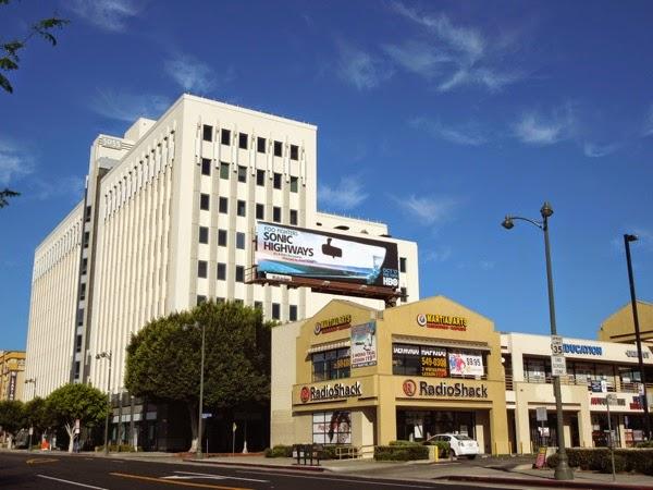 Foo Fighters Sonic Highways billboard