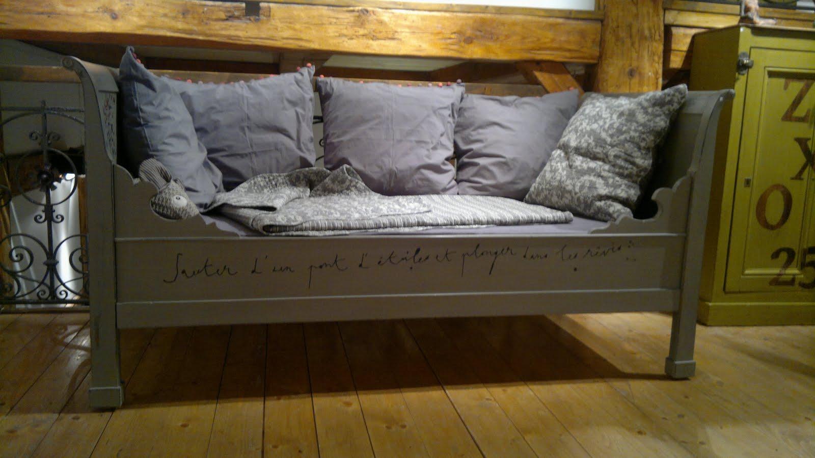 Relooker un lit ancien - Relooker un lit ancien ...