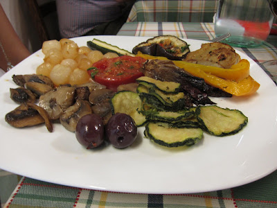 Roasted Veggies at Rome