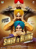 Singhgiri of Akshay Kumar in a Prabhu Deva film Singh Is Bling poster
