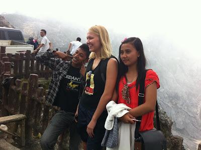 Вулкан Тангкубан Пераху, кратер, Ява, Гарут, Индонезия