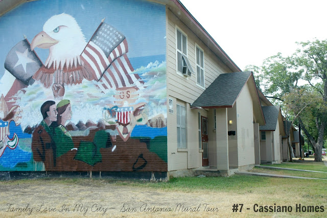 San Antonio Mural Tour - Cassiano Homes - Family Love In My City