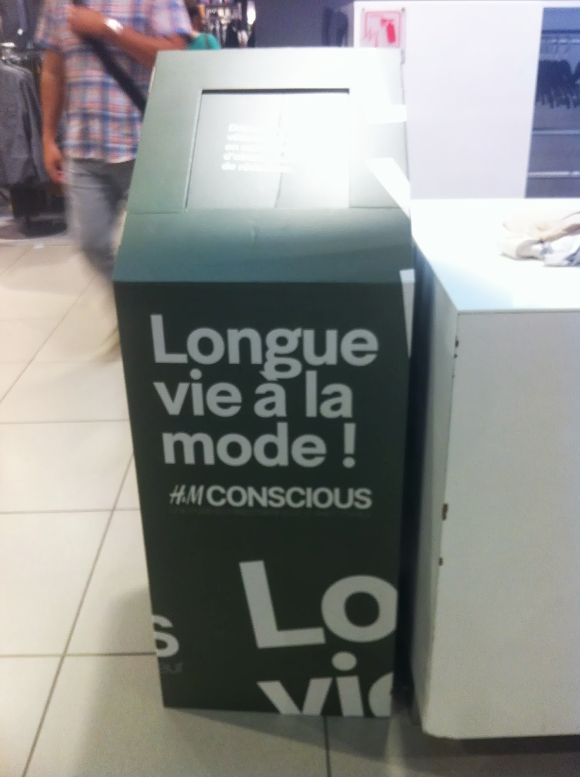 H&M recyclage