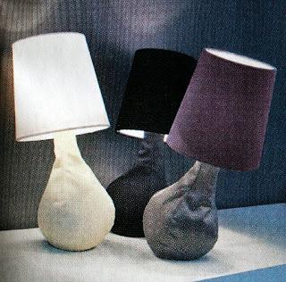 Lámparas Recicladas, Tela Reciclada